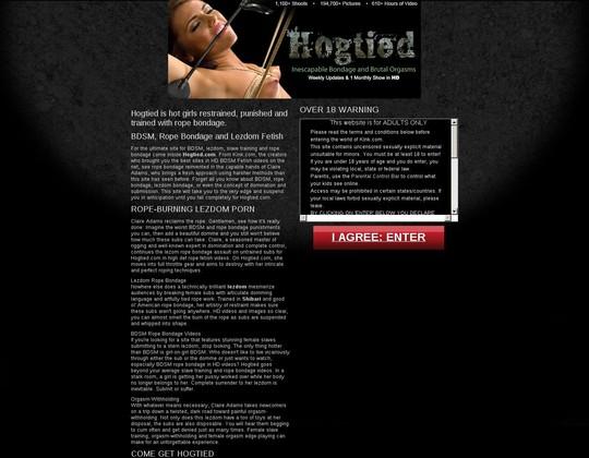 hogtied hogtied.com