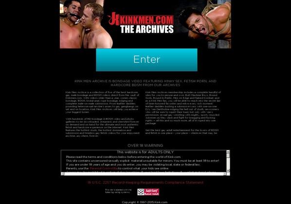 kink men archive kinkmenarchive.com