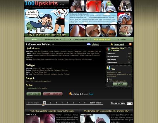 100 upskirts 100upskirts.com