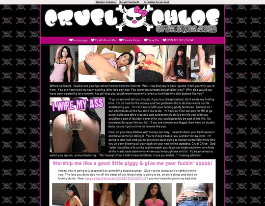 cruelchloe.com cruelchloe.com