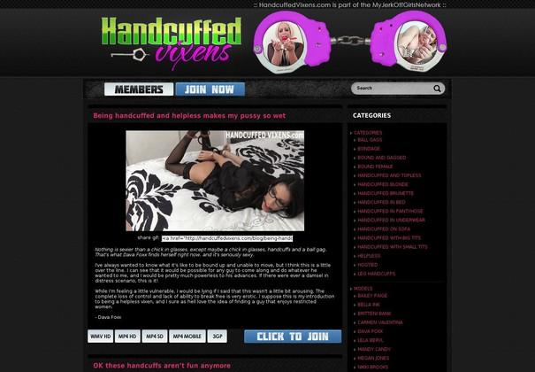 handcuffed vixens handcuffedvixens.com