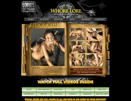 whore lore whorelore.com