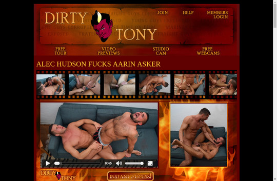 dirtytony.com