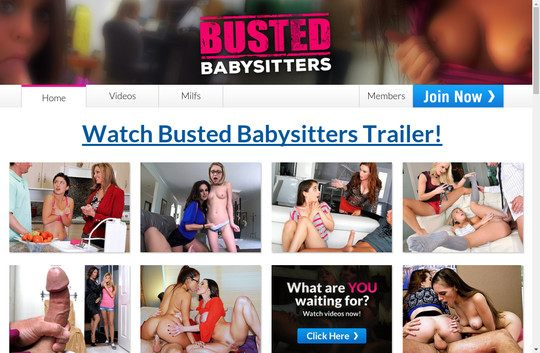 bustedbabysitters.com
