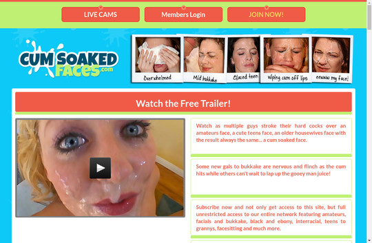 cumsoakedfaces.com