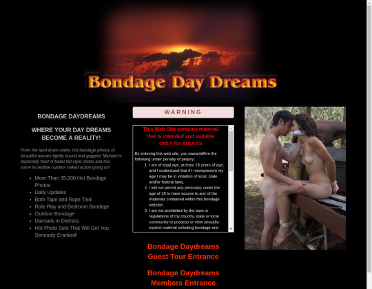 bondagedaydreams.com