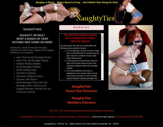 naughtyties.com