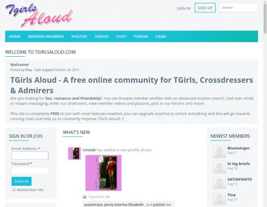 tgirlsaloud.com