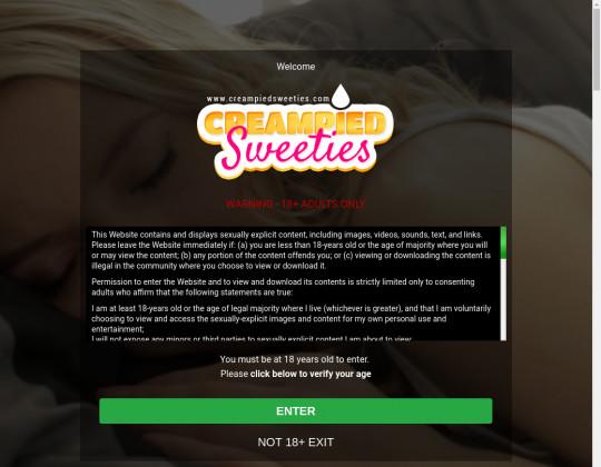 creampiedsweeties.com