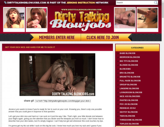 dirtytalkingblowjobs.com
