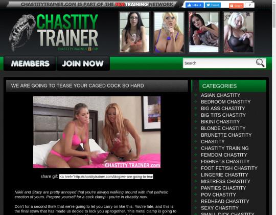 chastitytrainer.com