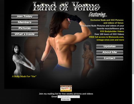 landofvenus.com